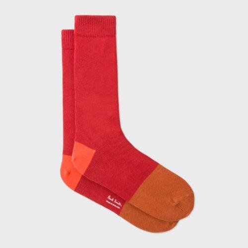 Rote Socken