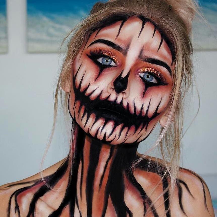 Susses Oder Saures Das Passende Halloween Make Up Maxwellscott
